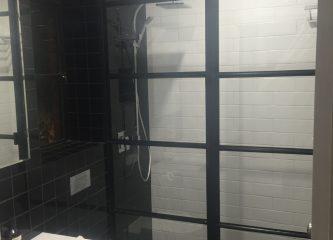 Steel Frame Shower Screen