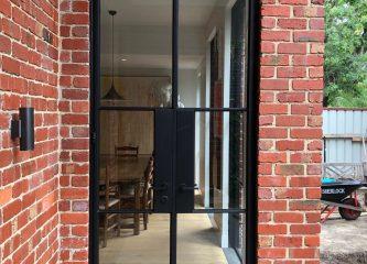 Double Steel Doors